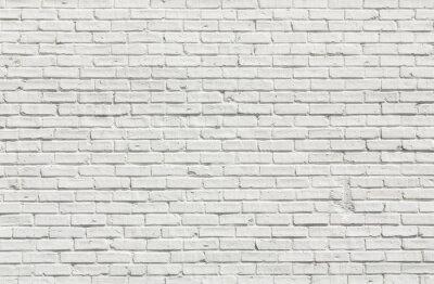 Картина Белая кирпичная стена