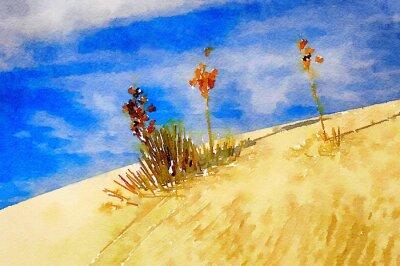 Картина белые пески