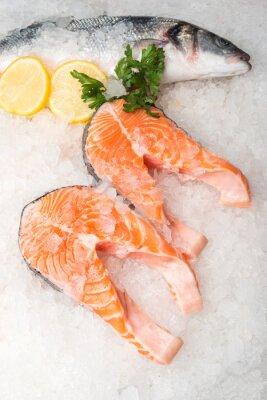 Картина Вся рыба скумбрия и лосось