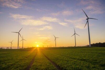 Картина Wiatraki (wiatrowe турбины)