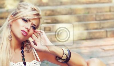 Замечательные блондинки в природе