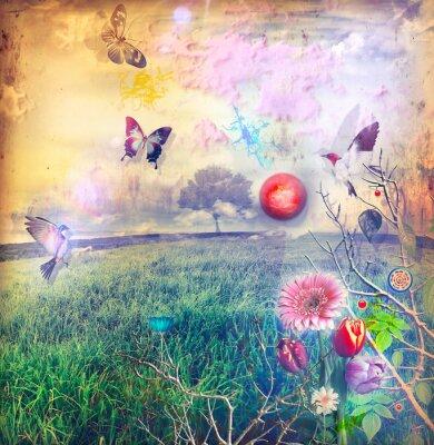 Картина Чудес с цветами