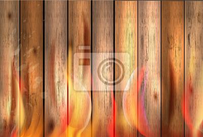 текстура древесины фон в огне