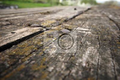 Картина Деревянный