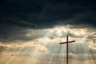 Картина Деревянный крест