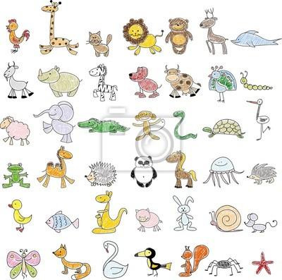 Вектор детские рисунки