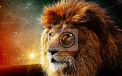 Картина Загадочный лев