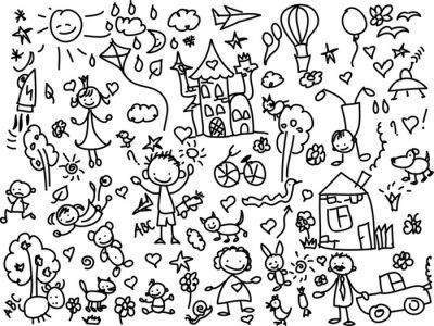 Картина Детские рисунки