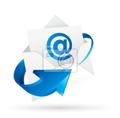 Картина メール 電子メール    ベクターeps