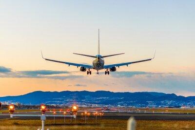 Картина 飛行 場 の 着陸