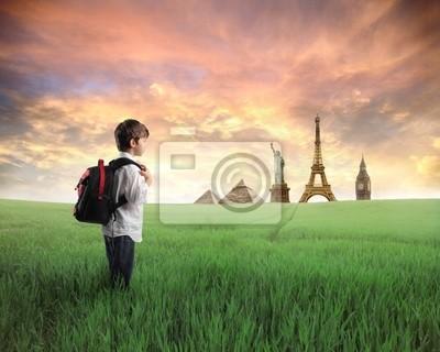 Картина Молодые путешественники