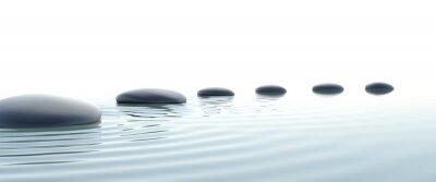 Картина Дзен Путь камней в широкоэкранном