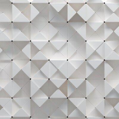Фотообои 3D иллюстрации геометрическим рисунком