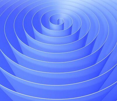 Фотообои 3D спираль, цифровой абстрактный узор фона