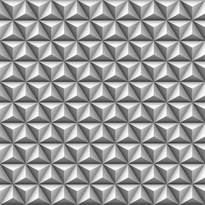 Фотообои 3d треугольник бесшовные модели