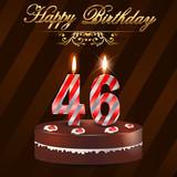 Поздравление с днем рождения женщине с 46 летием 74