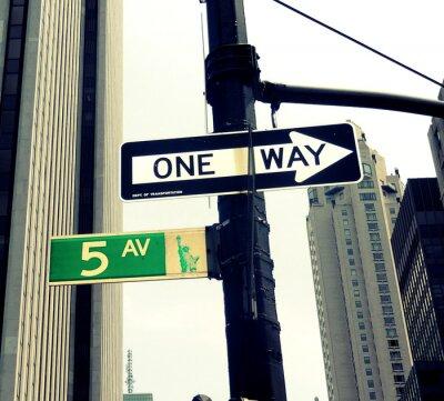 Фотообои 5th Avenue Светофор