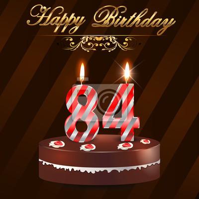 Поздравление с днем рождения 84 года женщине