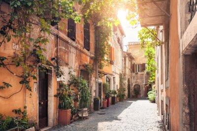 Фотообои Живописная улица в Риме, Италия