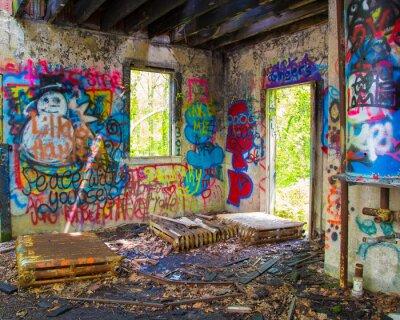Фотообои Заброшенный Graffit