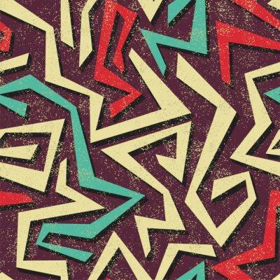 Фотообои Абстрактная граффити бесшовные модели. Вектор