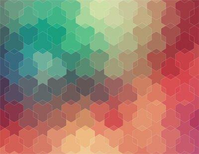 Фотообои Аннотация 2D геометрическое красочный фон