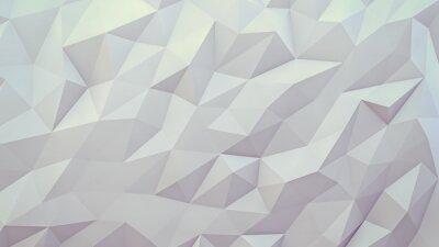 Фотообои абстрактный фон 3D визуализации. Техно треугольной низкополигональная фон