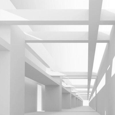 Фотообои Аннотация архитектуры фон с 3d перспективе на эми