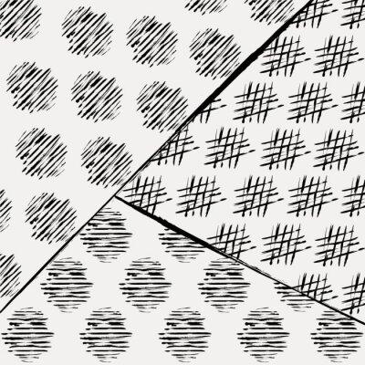 Фотообои абстрактный узор фон, с инсультами и брызгами, черный
