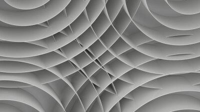 Фотообои Абстрактный фон со спиралями, 3 d