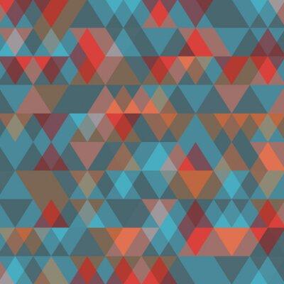 Фотообои Абстрактный фон с треугольниками. Векторная иллюстрация.