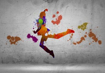 Фотообои Абстрактный танцор