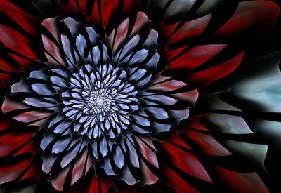 Фотообои Фрактал цветок