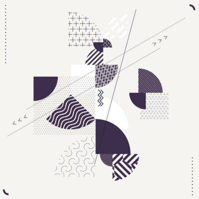Фотообои Абстрактная геометрическая композиция