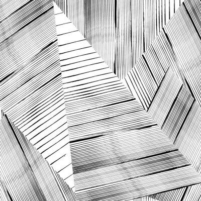 Фотообои Аннотация геометрический узор фон, со штрихами и брызг