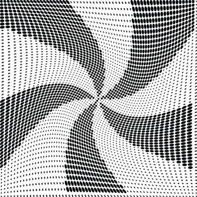 Фотообои вектор Абстрактные полутоновых точек
