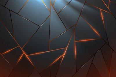 Фотообои Abstract metal background with light effect
