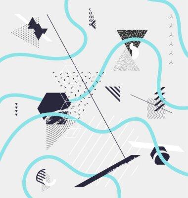 Фотообои Аннотация минималистичный геометрическая композиция