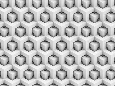 Фотообои Аннотация 3D многоугольной бесшовные модели - геометрическая структура фоном коробка