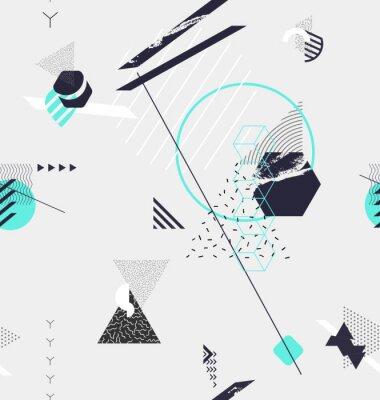 Фотообои Абстрактный бесшовный геометрический фон