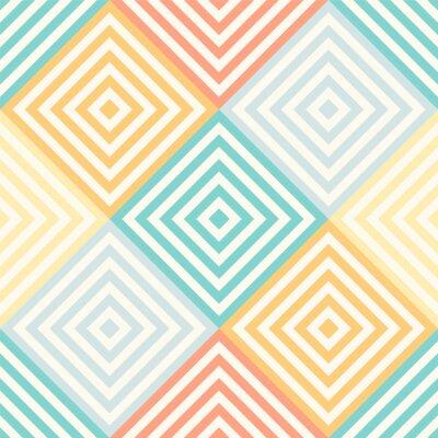 Фотообои Абстрактный бесшовные геометрический узор - ромб