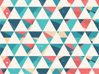 Фотообои Abstract Seamless geometric shape vector pattern