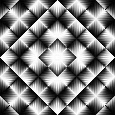 Фотообои Абстрактный квадратный фон. Бесшовный геометрический узор