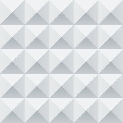 Фотообои Аннотация белые и серые геометрические квадраты бесшовные модели