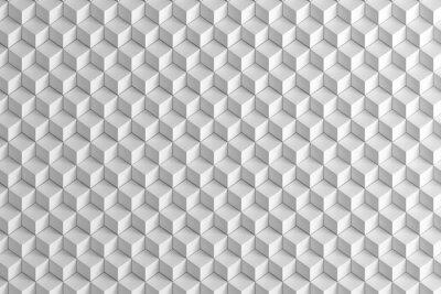 Фотообои Абстрактный белые коробки лестничные текстуру фона 3d