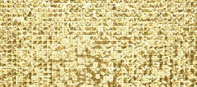 Фотообои abstrakte 3d polygon kunst im muster oder raster design, in verschiedenen farben erhältlich, scharf und hochauflösend