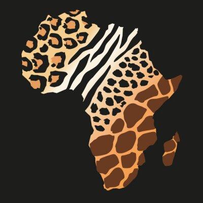 Фотообои Afrique_animaux Sauvages