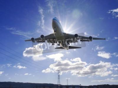 Фотообои Самолет взлет