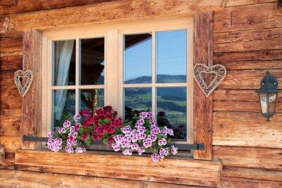 Фотообои Alpen им Fenster
