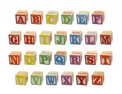 Фотообои Alphabet Blocks